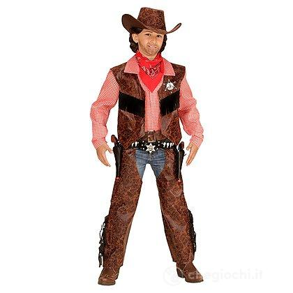 Costume Cow Boy 5-7 anni