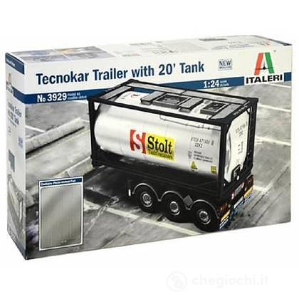 Rimorchio Tecnokar 20' Tank Trailer 1/24 (IT3929)