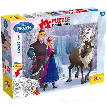 Puzzle Double Face Plus 60 Frozen The Iceland
