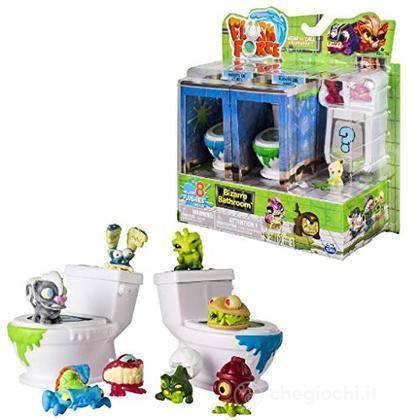 Flush Force WC da 8 Flushies, Colori Assortiti (6037317 )