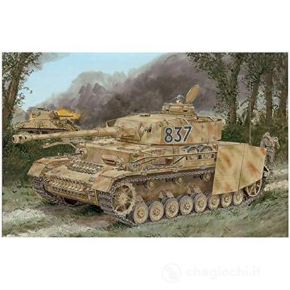 Pz.Kpfw.Iv Ausf.H Late Production W/Zimmerit 2 In 1 Scala 1/35 (DR6933)