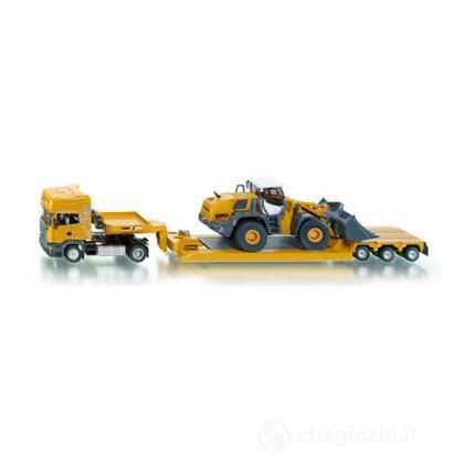 Camion scania R620 con ruspa 1:50