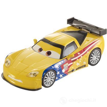 Cars Pull Back Gorvette ( Y9413)
