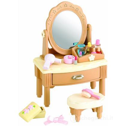 Tavolo da toeletta con specchio (personag escl) (2936)