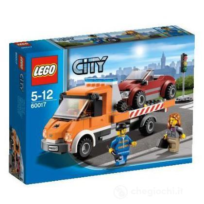 Camion con pianale - Lego City (60017)