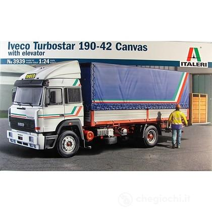 Camion Iveco Turbostar 190.42 Canvas. Scala 1/24 (IT3939)