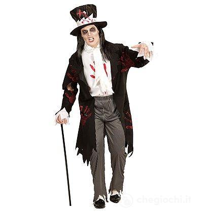 Costume Adulto Sposo Zombie S