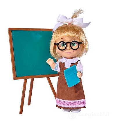 Masha a scuola