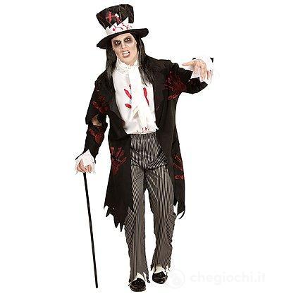 Costume Adulto Sposo Zombie XL