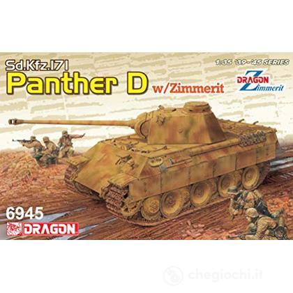 Sd.Kfz.171 Panther Ausf.D W/Zimmerit (2 In 1) Scala 1/35 (DR6945)