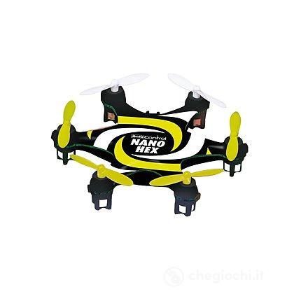 Mini Quadcopter Nano Hex giallo e nero (23947)