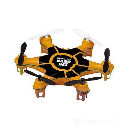 Mini Quadcopter Nano Hex arancio e nero (23948)