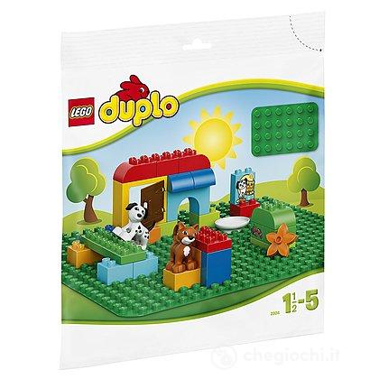 Base verde - Lego Duplo Mattoncini (2304)