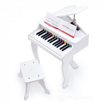 Pianoforte a coda Deluxe (Bianco) (E0338)
