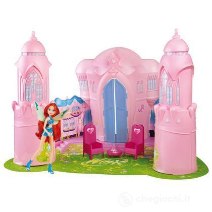 Winx castello alfea casa delle bambole e accessori for Disegni casa castello