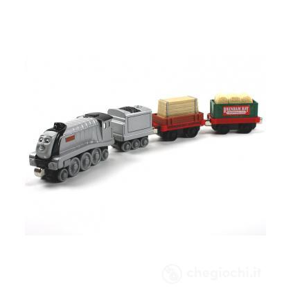 Vagoni Thomas & Friends. Spencer locomotiva carichi speciali. (R947)