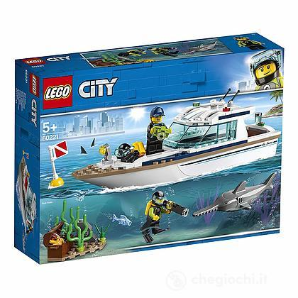 Yacht per immersioni - Lego City Great Vehicles (60221)