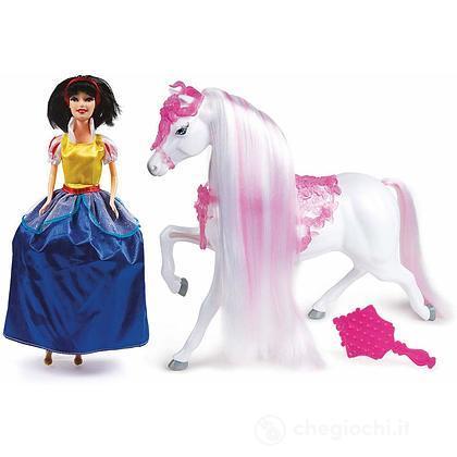 Princess Biancaneve Con Cavallo