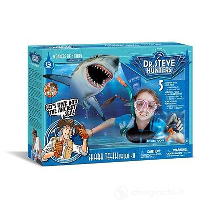 Shark Teeth Paleo Kit. Denti di squalo