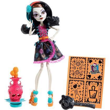 Skelita Calaveras - Monster High Lezione d'Arte Mostruosa (BDF14)