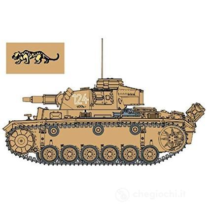 Pz.Kpfw.Iii Ausf.N S.Pz.Abt.501 Tunisia 1942/43 (Neo Smart Kit) Scala 1/35 (DR6956)