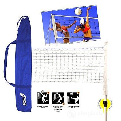 Set Multisport Beach Volley Beach Tennis Badminton Tennis Soccer (704850101)