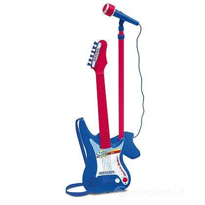Chitarra Elettrica con Amplificatore e Microfono (24 7540)