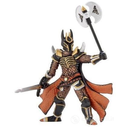 Cavaliere con ascia battaglia tripla (38959)