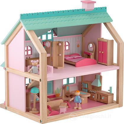 casa delle bambole in legno sevi