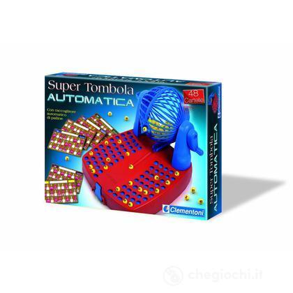 Super tombola automatica 48 cartelle 12962 giochi da tavolo clementoni giocattoli - Tombola gioco da tavolo ...