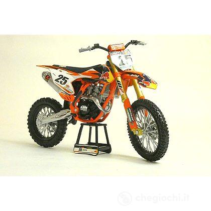 Red Bull Ktm 450sx-F Factory Racing Team - Marvin Musquin (N.25) 1:10