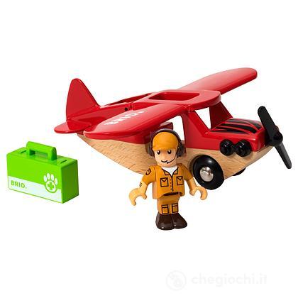 Brio Aeroplano per safari (33963)