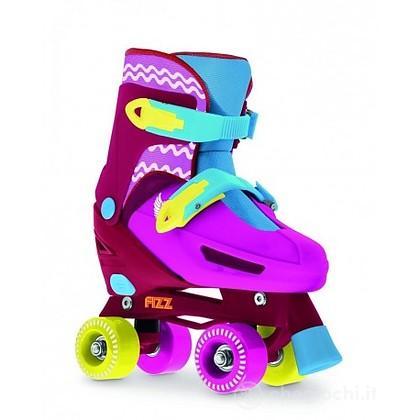 Pattino 4 ruote : fizz quad pink 39-42 (707400196)