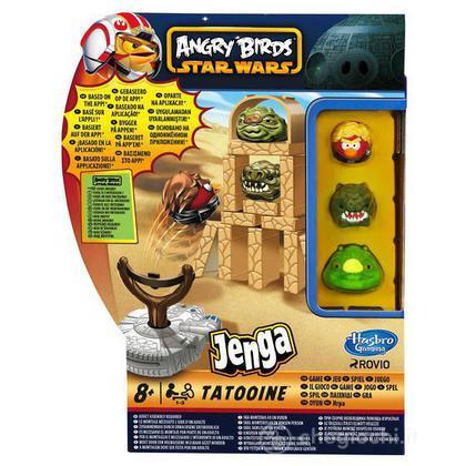 Angry Birds Star Wars Jenga Battle Game