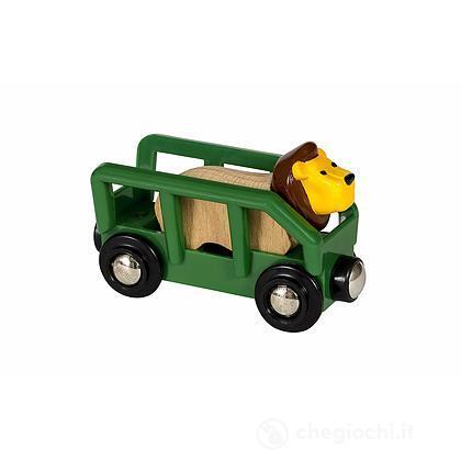 Brio Vagone con leone (33966)