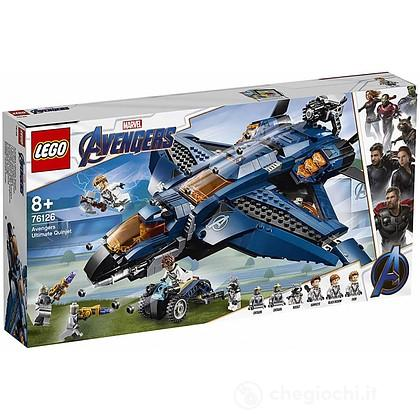 Avengers Ultimate Quinjet - Lego Super Heroes (76126)