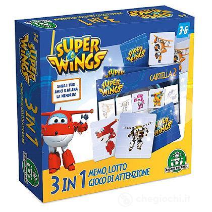 Super Wings Supermemo 3 in 1 (UPW19000)