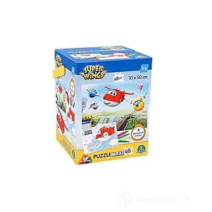 Super Wings Puzzle 48 pezzi + Colori (UPW23000)