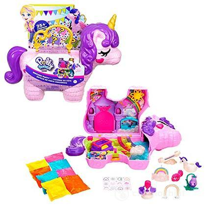 Polly Pocket - Unicorno Magiche Sorprese Playset (GVL88)