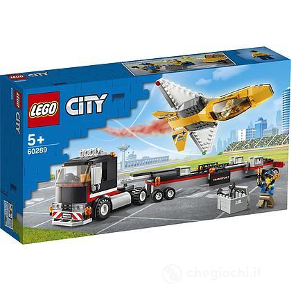 Trasportatore di jet acrobatico - Lego City (60289)