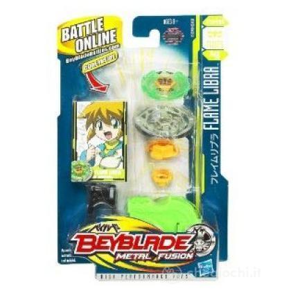 Beyblade Metal Fusion battle top super - Flame Libra