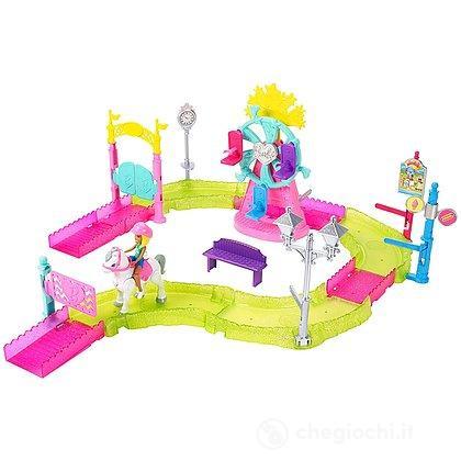 Barbie Parti e Vai Luna Park (FHV70)