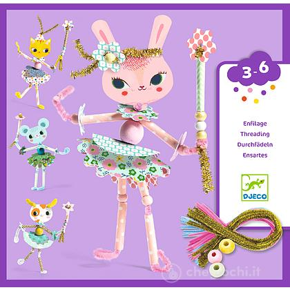 Threading My fairies Crea fatine perline e filo (DJ08976)
