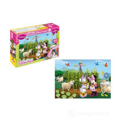 Puzzle color plus maxi 60 Minnie