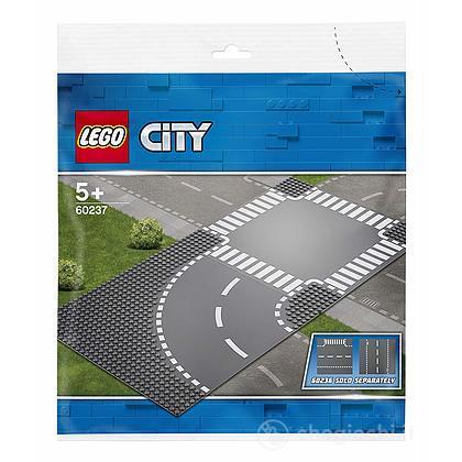 Curva e incrocio - Lego City Supplementary (60237)