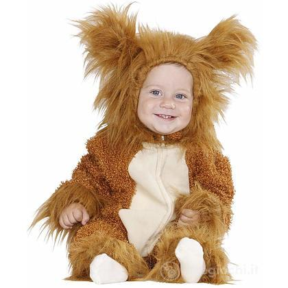 Costume Leone Fuzzy 0/6 mesi