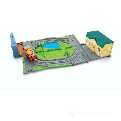 Sodor paint shop - Playset Sempre con Te di Thomas (W9325)