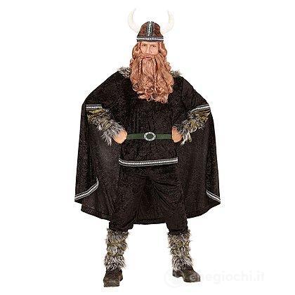 Costume Adulto Vichingo Nero XL