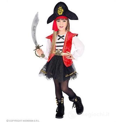 Costume Piratessa 4-5 anni