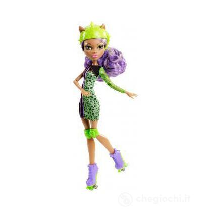 Roller Maze Clawdeen - Monster High sport (Y8350)